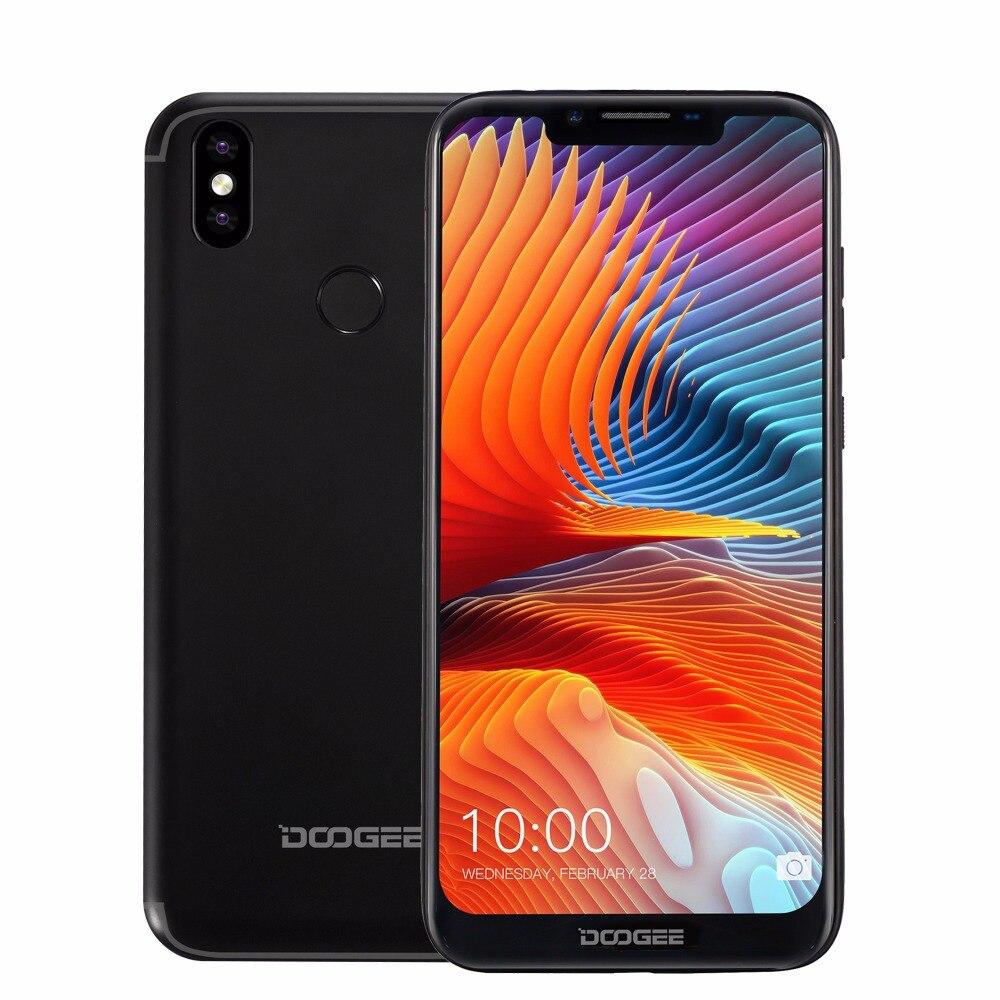 DOOGEE BL5500 Lite 4G Smartphone 6.19 inch MTK6739 Quad Core 2GB RAM 16GB ROM 5500mAh Dual SIM 13.0MP Android 8.1