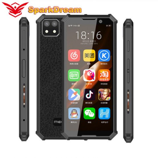 Melrose 2019 END Smartphone 1GB/2GB 8GB/32GB 4G Lte MTK6739V Quad Core Android 8.1 Fingerprint 3.46 Inch Super Mini CellPhone