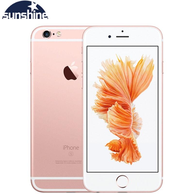 Smartphone Original Apple iPhone 6S Plus Dual Core Mobile phone 5.5'' 12.0MP 2G RAM 16/64/128G ROM LTE Mobile Phone