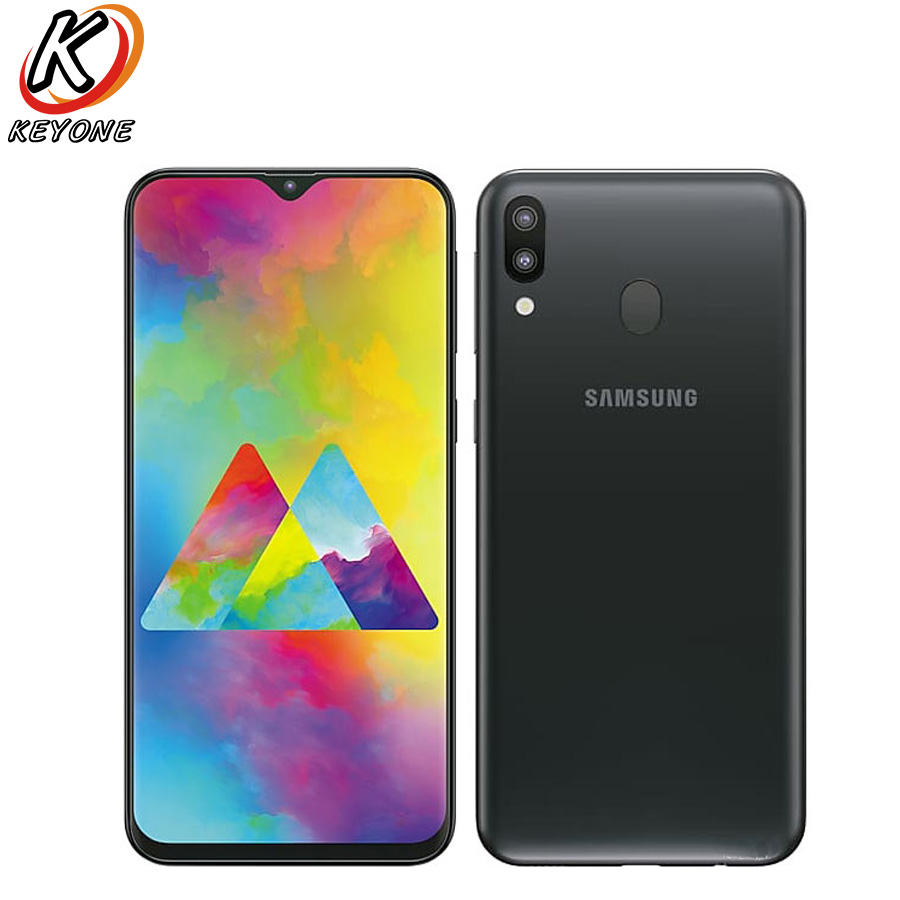Brand New Samsung Galaxy M20 M205F-DS 4G LTE Mobile Phone 3GB RAM 32GB ROM Exynos 7904 Octa Core Android 8.1 Dual SIM SmartPhone
