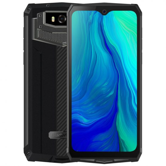 "Blackview BV9100 6.3"" 13000mAH NFC IP68 rugged shockproof smartphone android 9.0 4GB+64GB Octa Core Fast Charge 4G mobile phone"