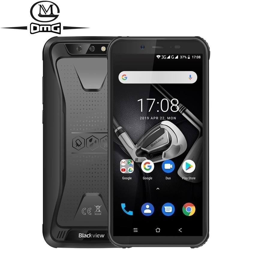 """Blackview BV5500 pro NFC Rugged shockproof mobile phone android 9.0 5.5"""" 3GB RAM 16GB ROM 4400mAh MT6739 Quad core 4G smartphone"""