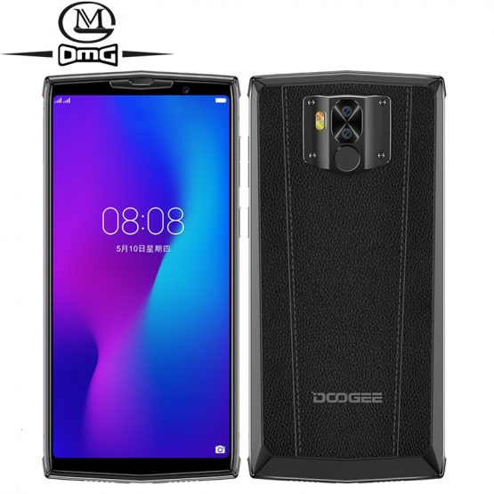 DOOGEE N100 NFC 10000mAh Android 9.0 Mobile Phone 4GB + 64GB 5.99'' FHD+ Display Helio P23 MT6763 Octa Core 21MP 4G Smartphone