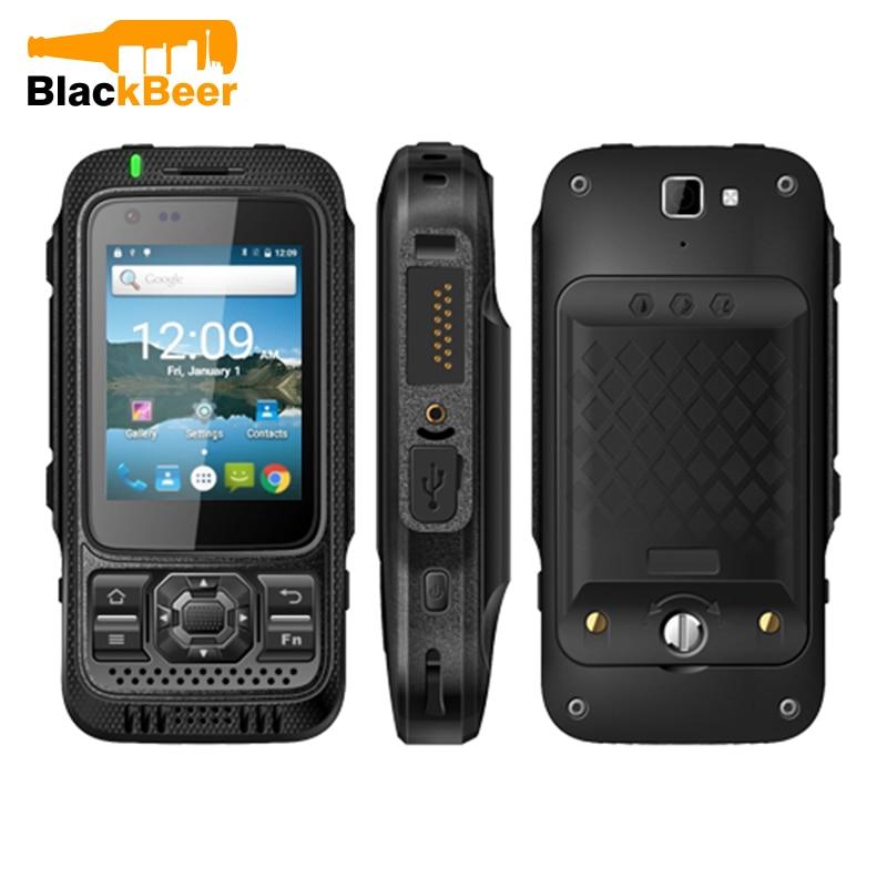 "Mosthink TOKIE TK1000 MTK6735P Quad Core 1GB + 8GB 2.4"" Smartphone IP67 Waterproof 4G LTE Zello PTT Android Walkie Talkie Phone"