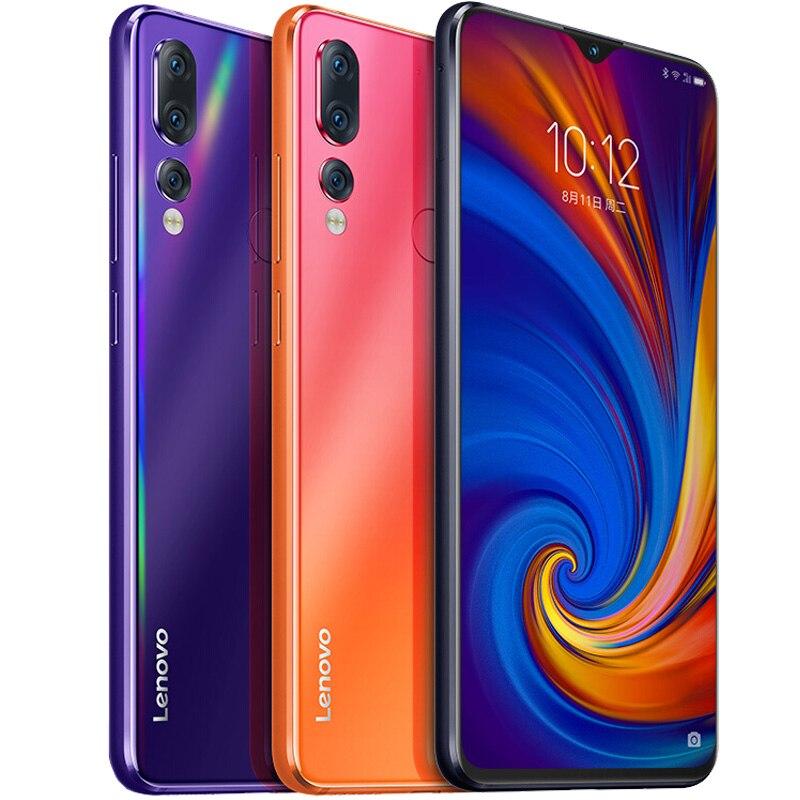 "Global ROM Lenovo Z5S L78071 6GB 64GB Cellphone Android 6.3"" Smartphone Triple Rear 16MP Camera Snapdragon 710 Octa Core 3300mAh"
