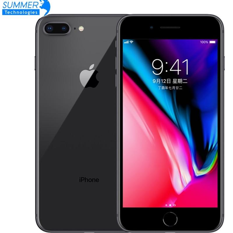"Original Unlocked Apple iPhone 8 Plus LTE Mobile Phone 3GB RAM Hexa Core 12.0MP 5.5"" iOS Fingerprint Used Smartphone"