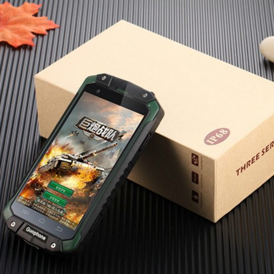 GPS Waterproof Android Smartphone Guophone V9 2GB RAM 16GB ROM IP68 Mobile Phones Dicovery Cellphone