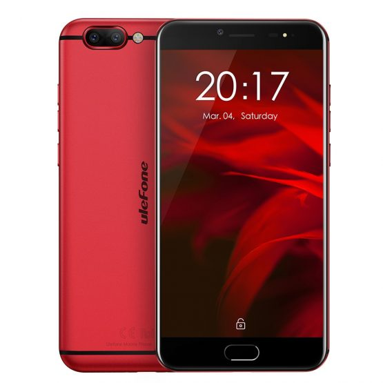 Ulefone Gemini Pro 5.5 inch FHD Mobile Phone Android 7.1 MTK6797 Deca Core 4GB RAM 64GB ROM Fingerprint ID 4G Smartphone