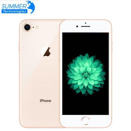 "Used Apple iPhone 8 2GB 64GB Smartphone Original Unlocked LTE Mobile Phone 4.7"" 12.0MP Hexa Core 2GB RAM iOS Fingerprint"