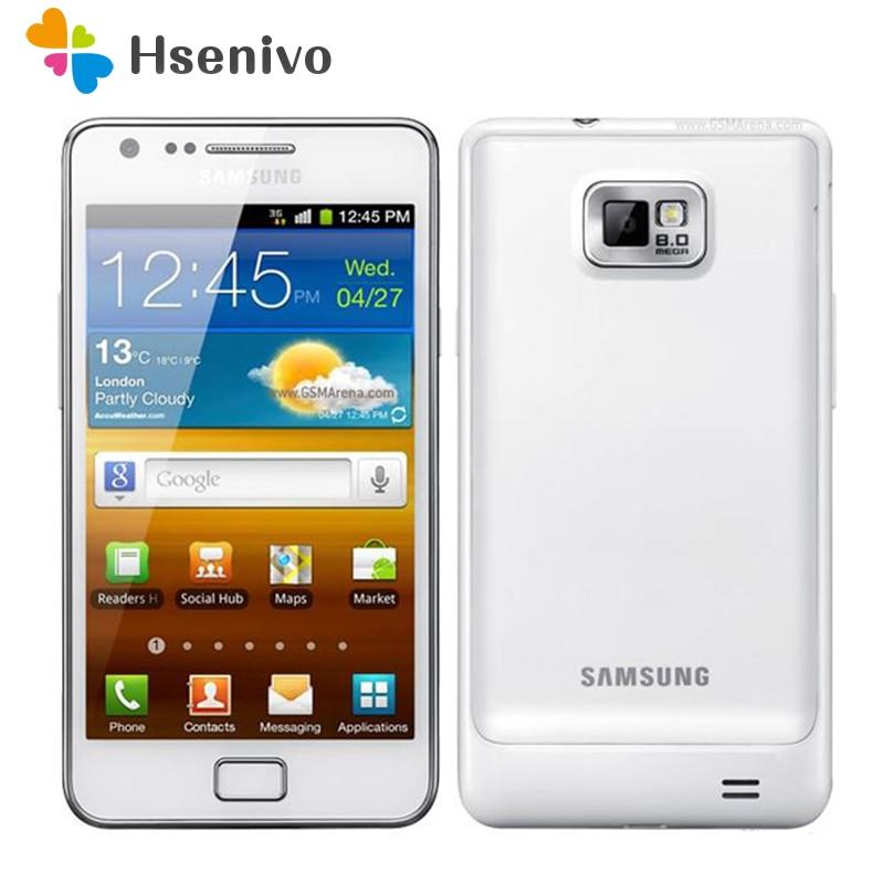 original hot sale 100% Original Unlocked Samsung Galaxy S2 I9100 GPS 16GB ROM 8MP 4.3 Inch`Refurbished Smartphone Free Shipping
