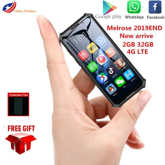 New Arrive Melrose 2019end Mini Smartphone 2GB 32GB 4G Network Wifi GPS 3.5'' Small Backup Students Phones PK 2019 SOYES XS S10