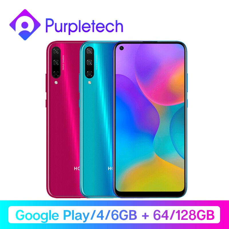 "Original Honor Play 3 Google Play 64GB 128GB Kirin 710 F Octa Core Smartphone 48MP AI Triple Cameras 6.39"" Android Mobile Phone"