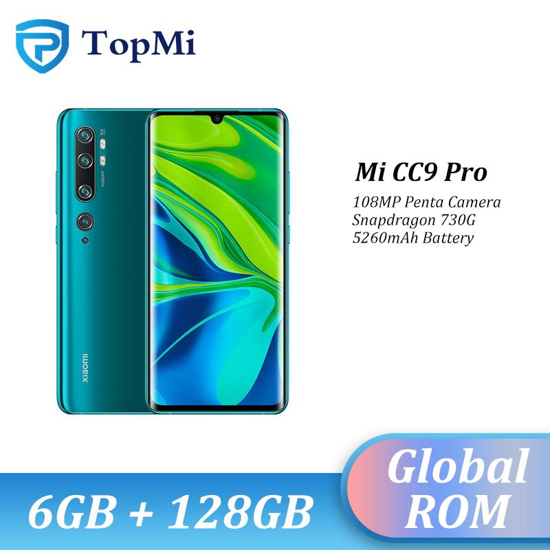 "Global ROM Xiaomi Mi CC9 Pro 6GB RAM 128GB ROM 108MP Penta Camera Smartphone 5260 mAh Snapdragon 730G 6.47"" 10x Hybird Zoom"
