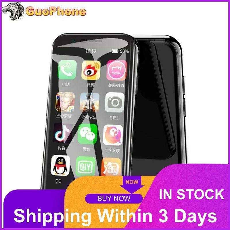 2019 Fashion SOYES XS Super Mini Phone Smartphone Android 6.0 3'' Dual Sim Quad Core Glass Body Smallest 4G LTE Mini CellPhone