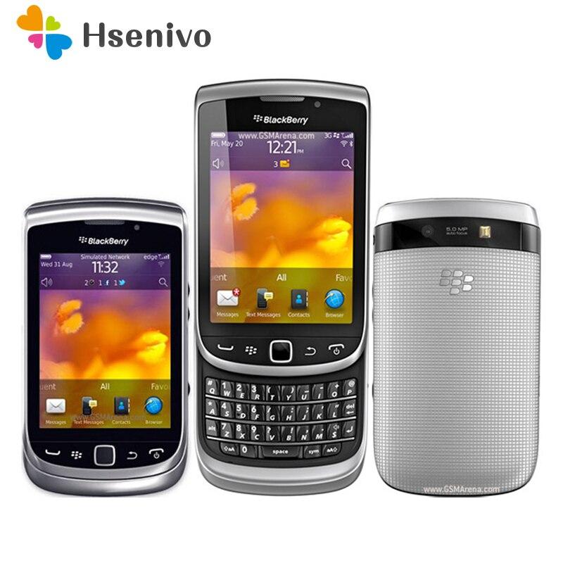 9810 Original BlackBerry Torch 9810 Mobile Phone BlackBerry 9810 Smartphone Unlocked 3G Wifi Bluetooth GPS 8GB Storage Cellphone