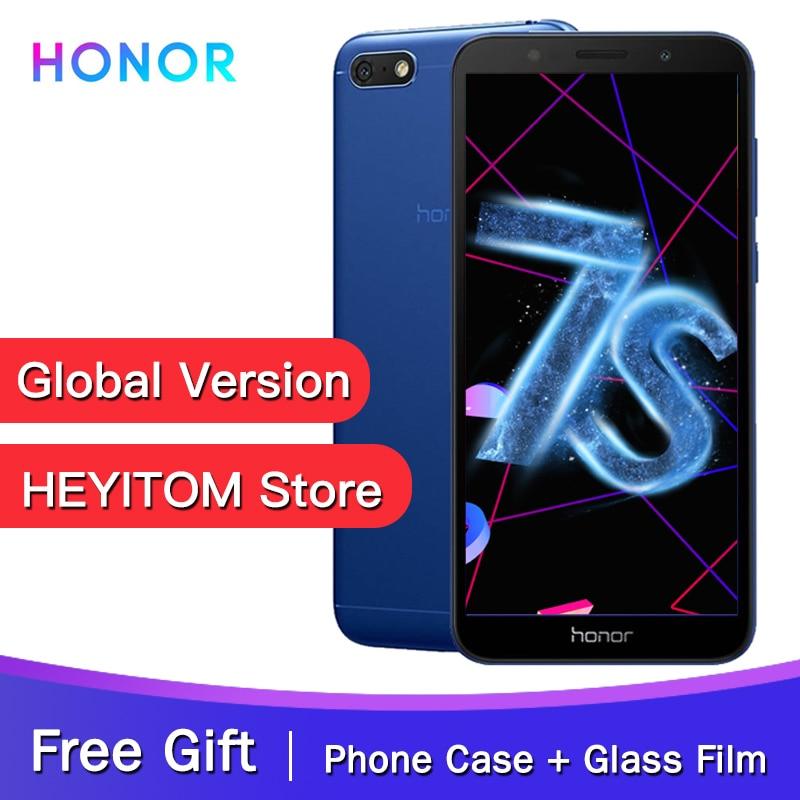 "Original Global Version Honor 7S MT6739 Quad Core 13MP Rear Camera 3020mAh Battery 5.45"" 18:9 Screen 2GB 16GB Smartphone"