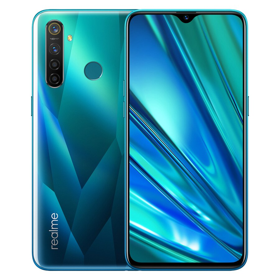 """8GB RAM 128GB ROM Realme 5 Pro Mobile Phone 6.3"""" Smartphone 48MP Quad Camera Cellphones 4035mAh Battery 20W VOOC Fast Charger"""