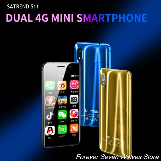 Small 4G Mini Smartphone S11 Android 7.1 CellPhone MTK6739 WiFi Dual SIM 3.2Inch Mobile Phone GPS Bluetooth