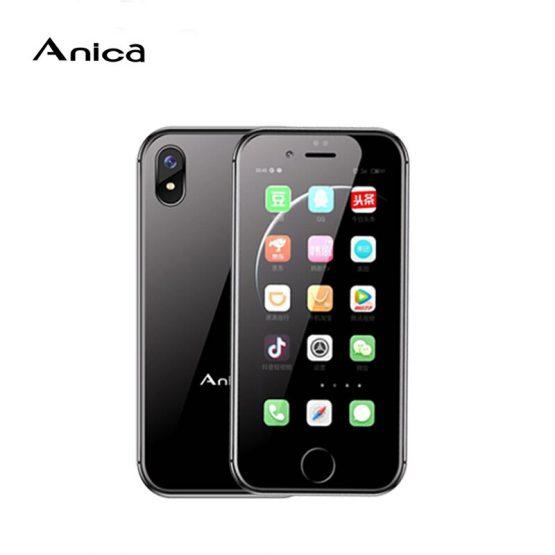 "Original Mini Smartphone Anica i8 2.45"" Android 6.0 WCDMA 3G CellPhone WiFi GPS Speaker mobile phone Support Google Store"