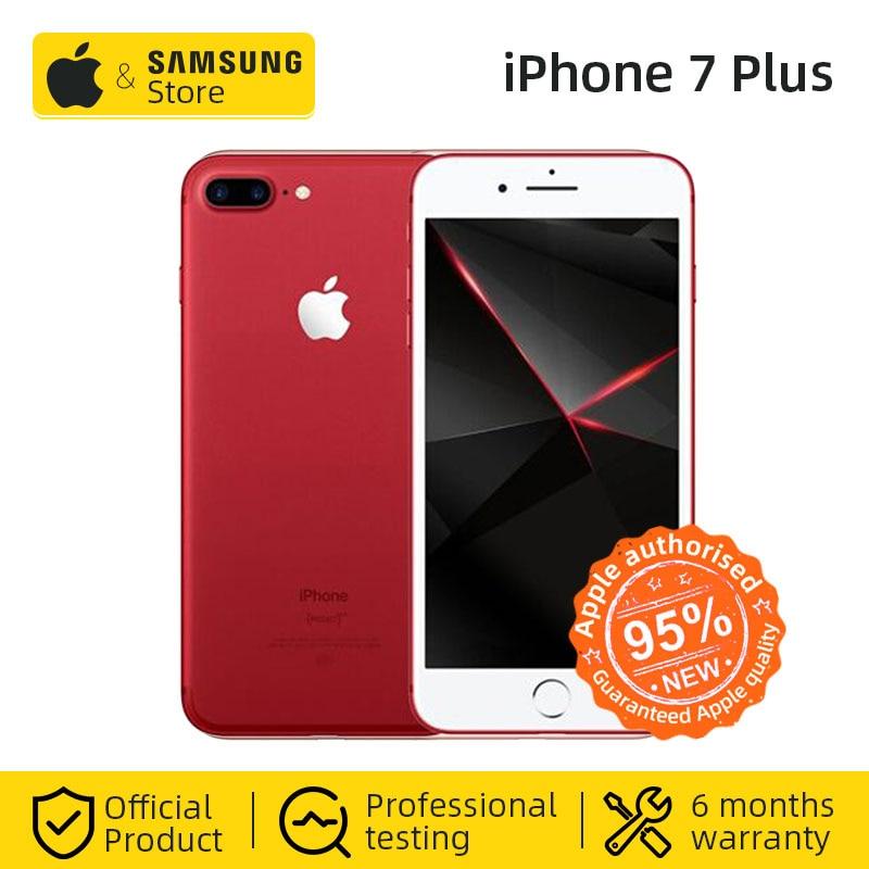 Original Apple iPhone 7 Plus 3GB RAM 32/128GB IOS CellPhone 12.0MP Camera Quad-Core Fingerprint LTE Smartphone(95% new