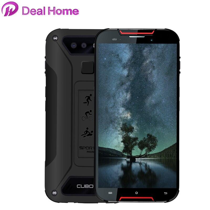 Cubot Quest Lite 5.0'' IP68 Waterproof Face ID Smartphone MT6761 Quad Core 3GB +32GB Dual Cameras 3000mAh Cellphones