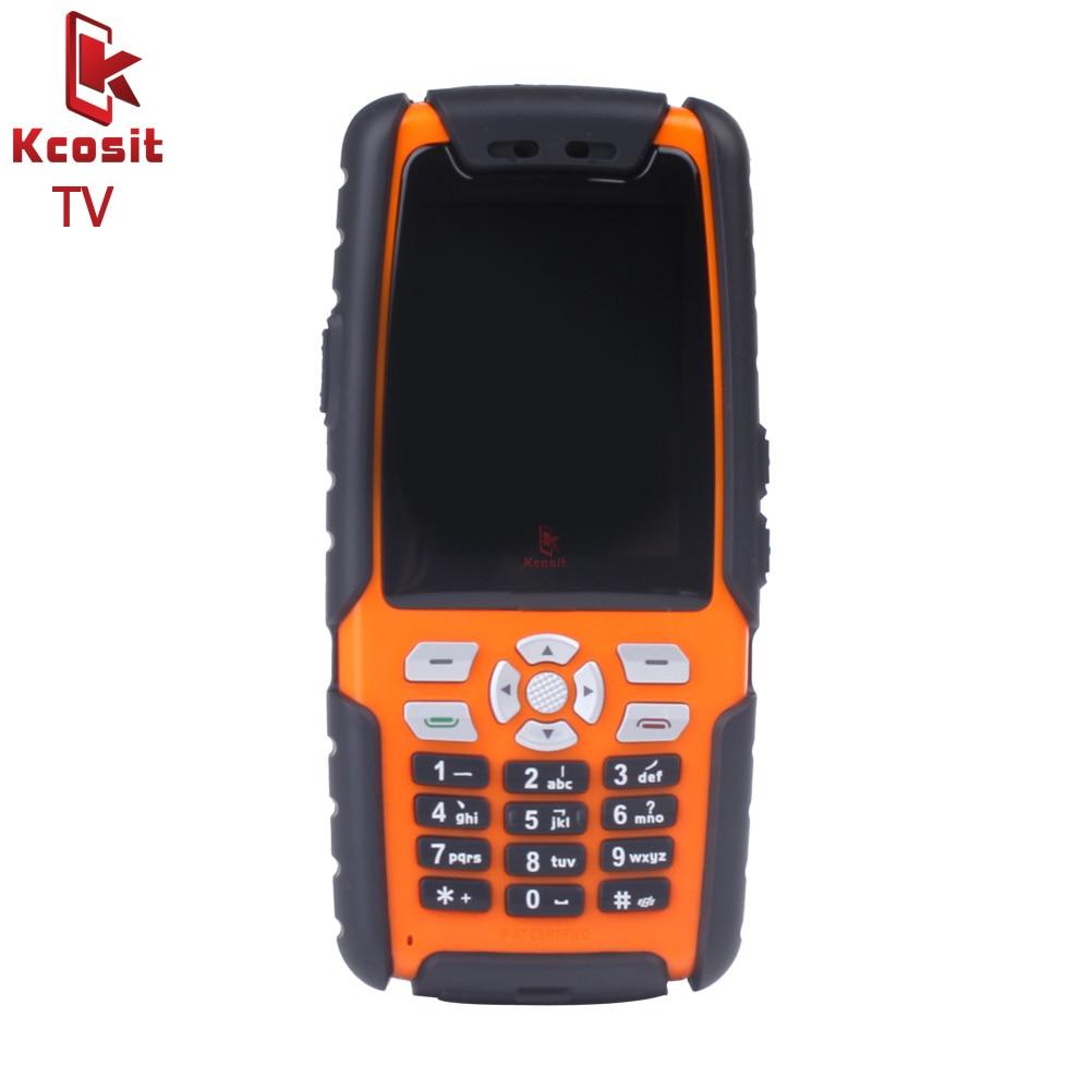 original L9 Mobile Analog TV phone IP67 Rugged Waterproof phone shockproof Senior old man Phone Dual Sim GSM Russian keyboard