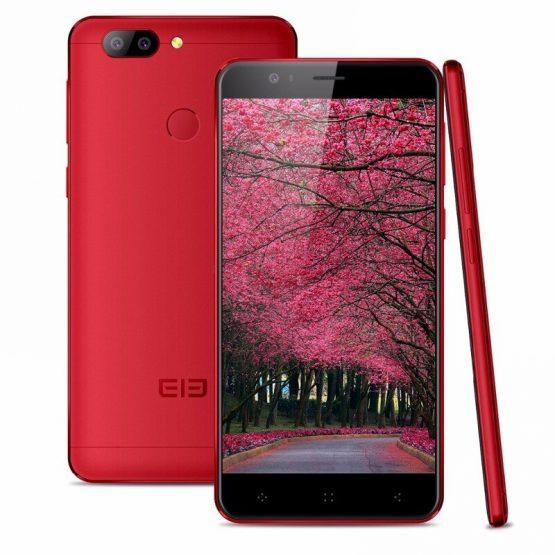 Elephone P8 Mini SmartPhone 4GB RAM 64GB ROM MTK6750T Octa Core Android 7.0 13.0MP Fingerprint ID 5.0 Inch 4G LTE Cell Phone