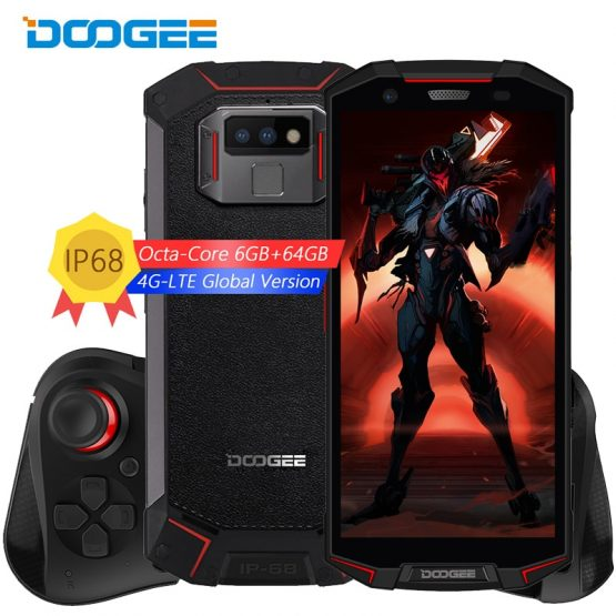 """IP68/IP69K Waterproof DOOGEE S70 mobile Phone NFC 5500mAh 12V2A Quick Charge 5.99""""FHD Helio P23 Octa Core 6GB 64GB 4G smartphone"""