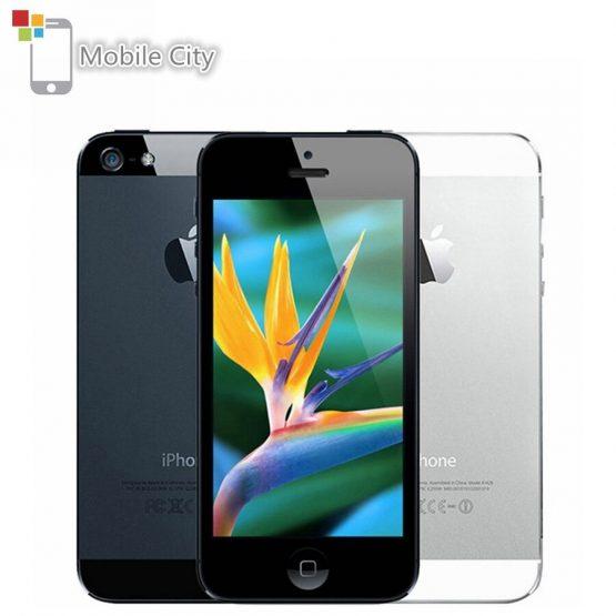 "Apple iPhone 5 IOS Smartphone 16/32/64GB ROM 4.0"" 8MP WIFI GPS Bluetooth 1.3GHz Fingerprint Unlocked Used Mobile Phone"