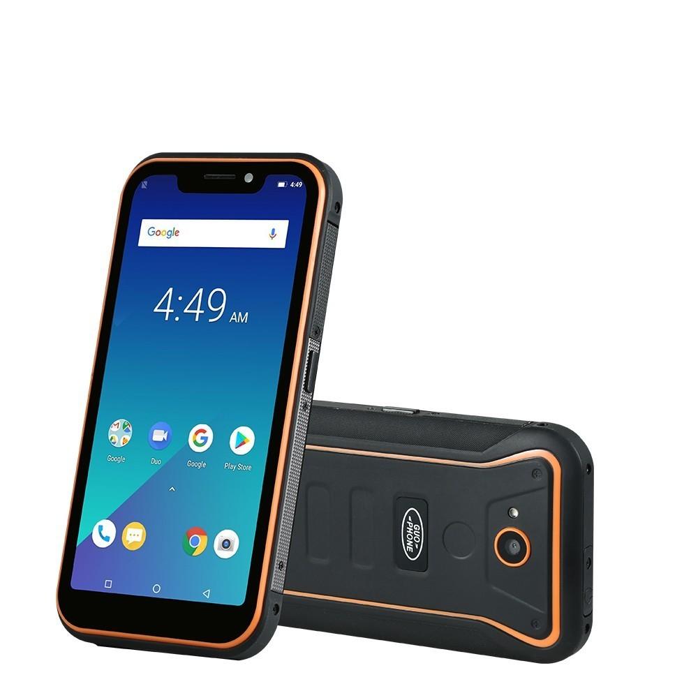 "Guophone X3 5.5"" 5000MAH MTK6739 Quad Core 2GB RAM 16GB ROM Android 8.1 GPS 8MP 3G WCDMA LTE Waterproof Rover X3 Smartphone"