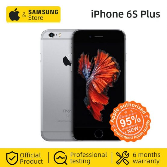 Unlocked Apple iPhone 6S Plus Smartphone A9 Dual Core 16/32/64/128GB ROM 5.5 inch 1080P 12.0 MP Camera 4G LTE Used Mobile phone
