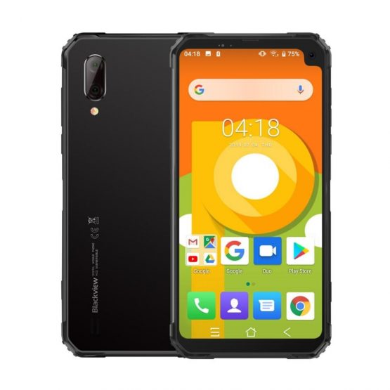 """Blackview BV6100 IP68 Waterproof smartphone 3GB+16GB 6.8"""" Noth 18:9 MT6761 Quad Core 2.0GHz 16.0MP Android 9.0 NFC 5580mAh OTG"""
