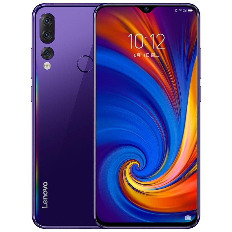 "Lenovo Z5S L78071 6GB 128GB 6.3"" Smartphone 16MP+8MP+5MP Camera Snapdragon 710 Octa Core Global ROM Android Cellphone 3300mAh"