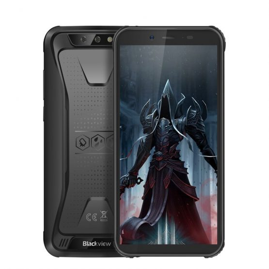 "Blackview BV5500 Pro 5.5"" IP68 Waterproof Rugged Outdoor Smartphone 3GB+16GB Android 8.1 4400mAh Dual SIM 18:9 Mobile Phone"