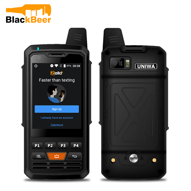 UNIWA Alps F50 2.8 Inch Cellphone 2G/3G/4G Zello Walkie Talkie Android 6.0 Quad Core MTK6735 Smartphone 1GB+8GB ROM Mobile Phone