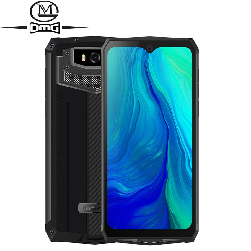 """Blackview BV9100 6.3"""" 13000mAH NFC rugged IP68 shockproof mobile phone android 9.0 Helio P35 Octa Core 4G smartphone Fast Charge"""