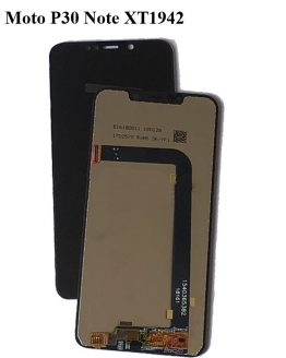 Black LCD+TP For Moto P30 Note XT1942 LCD Display with Touch Screen Digitizer Smartphone Replacement For Moto One Power XT1942-1
