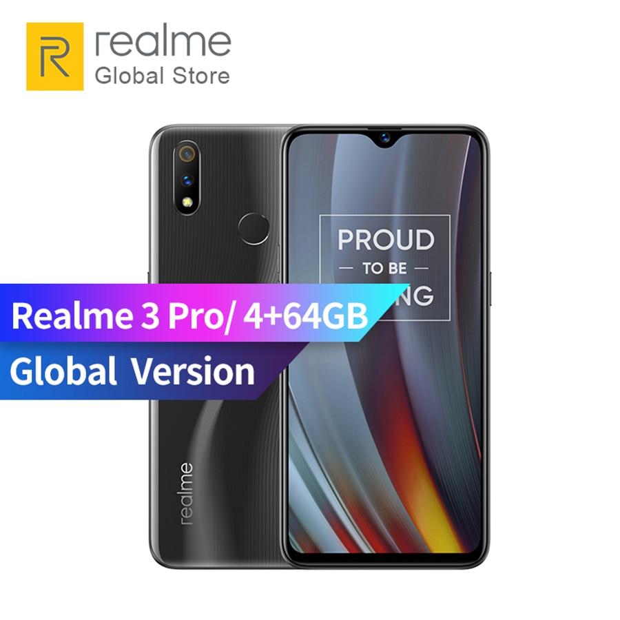 Global Version realme 3 pro 4GB RAM 64GB ROM Qualcomm® Snapdragon™ 710 AIE Adreno 616 GPU Flagship-level Camera Smartphone