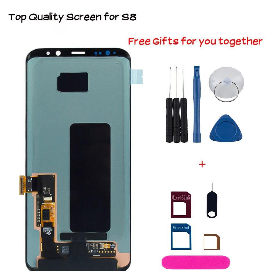 Lcd screen For Samsung Galaxy S8 S8 plus G950 G950F G955fd G955F
