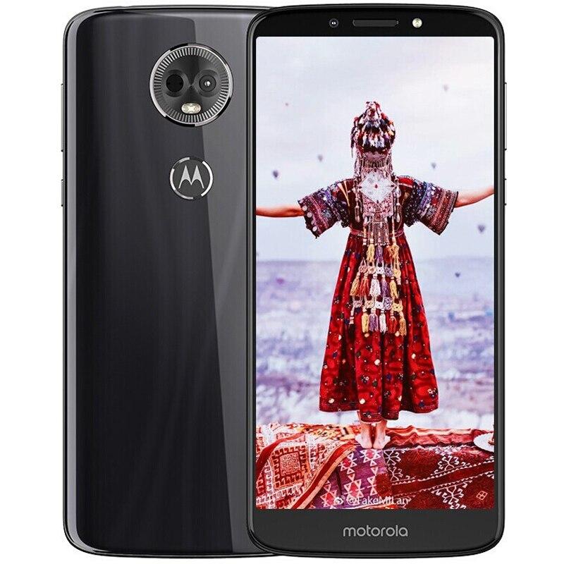 Global ROM Moto E5 Plus XT1924-9 4GB 64GB Smartphone 6.0'' Snapdragon 430 Octa Core 12MP Mobile Cellphone Glass Body 5000mAh