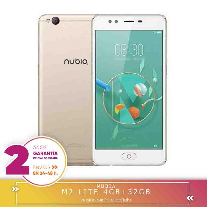 -Square Warranty-share a: nubia M2 Lite 5.5 inch single 4 hard GB RAM 32 hard GB ROM MTK6750 Eight Core 1.5GHz 4G Smartphone