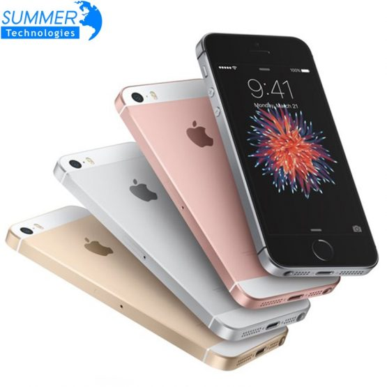 Apple iPhone SE Original Unlocked Fingerprint Mobile Phone A9 iOS 9 16/32/64GB ROM Dual Core 4G LTE 2GB RAM 4.0' Smartphone