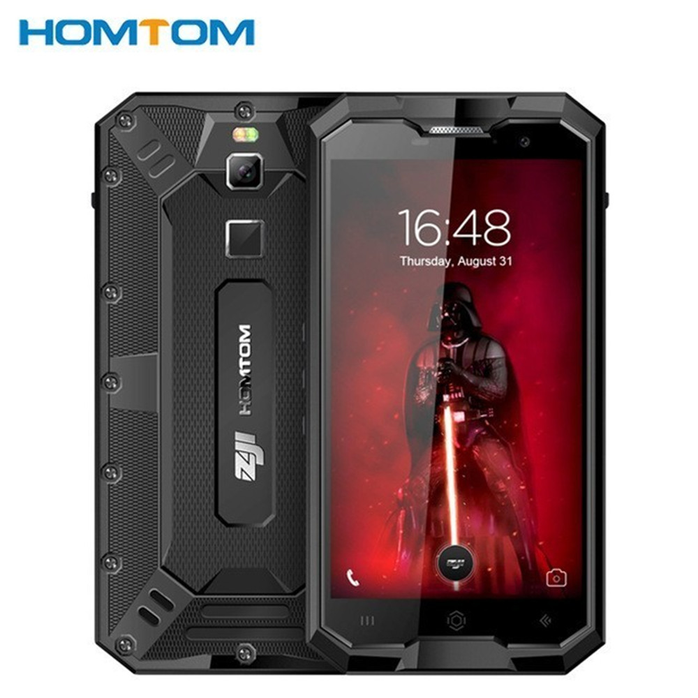 HOMTOM ZOJI Z8 IP68 Waterproof Shockproof Dustproof Fingerprint 4G 4GB RAM+64GB ROM 4250mAh 5V2A Metal Body OTG GPS Smartphone
