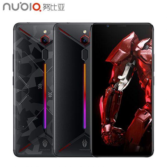 ZTE Nubia Red Magic Mars Game Phone 6.0 inch 6GB/8GB/10GB RAM 128GB/256GB ROM Snapdragon 845 Octa-core Android 9.0 Smartphone