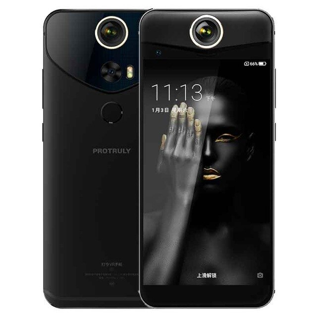 PROTRULY V10S Smartphone 360 Degree 26MP 3D VR Full View android 7.1 Snapdragon 625 Octa Core 4G NFC 4GB+64GB 16MP mobile phone