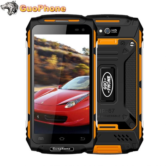 "Guophone X2 5.0"" 5500MAH MTK6737 Quad Core 2GB RAM 16GB ROM Android 6.0 GPS 8MP 3G WCDMA LTE Waterproof Rover X2 Smartphone"