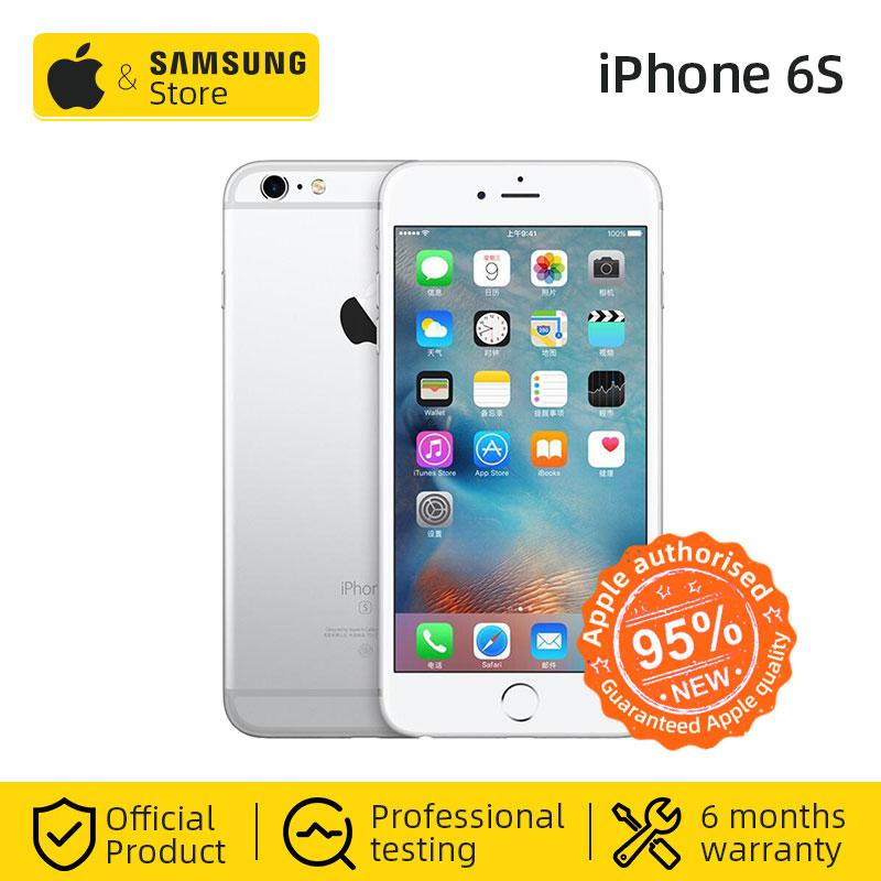 Original Apple iPhone 6s IOS Smartphone 2GB RAM 4.7 inch 12MP Rear Camera 4G LTE Cellphone NFC VoLTE (Used 95% new))