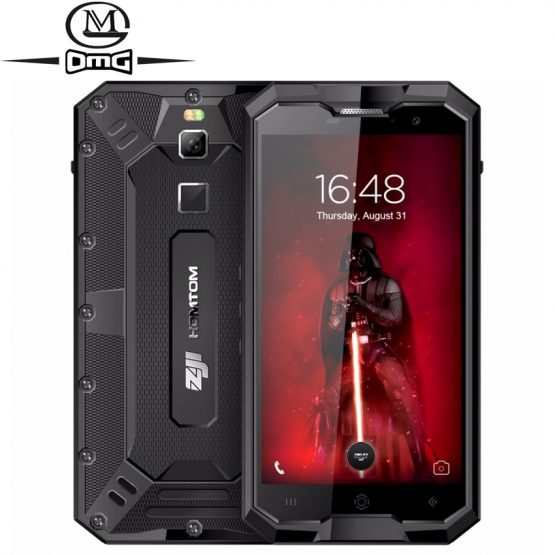 HOMTOM ZOJI Z8 IP68 shockproof Moblie Phone 4GB + 64GB Octa core Android 7.0 4G Rugged Smartphone 4250mAh Unlock cellphone