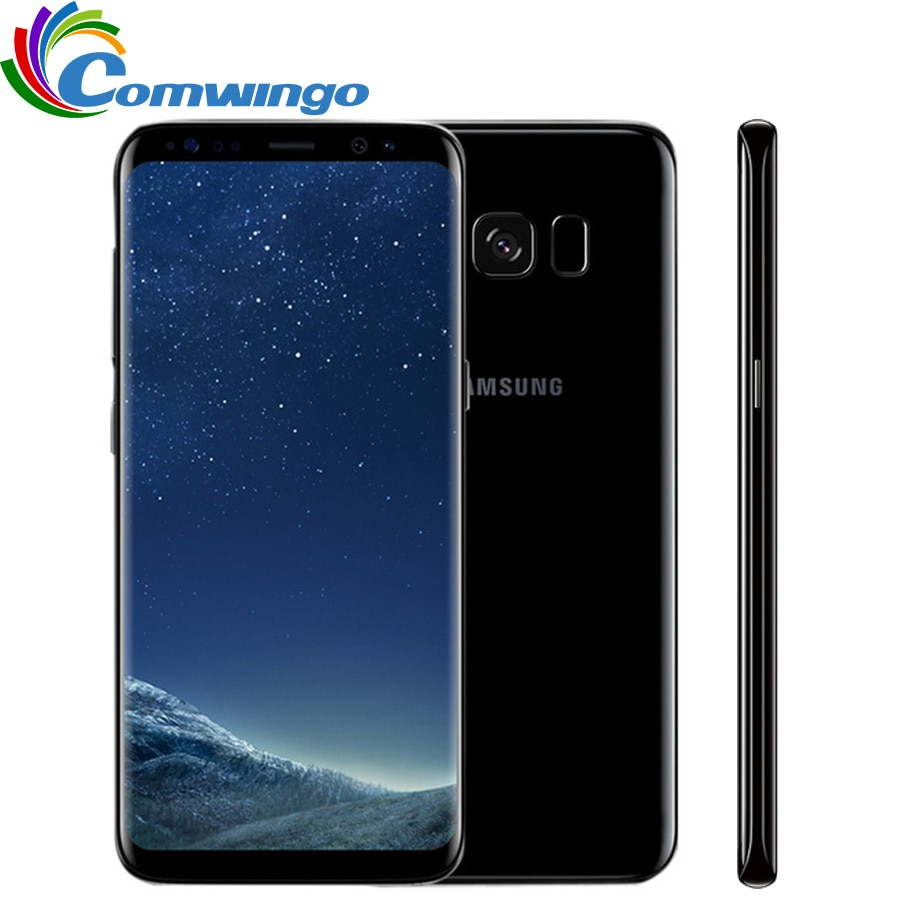Original Unlocked Samsung Galaxy S8 4GB RAM 64GB ROM Octa Core 4G LTE Mobile Phone 5.8 inch 12MP Smartphone 3000mAh s8