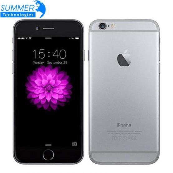 Original Apple iPhone 6 Dual Core Mobile Phone IOS WCDMA LTE 4.7' IPS 1GB RAM 16/64/128GB ROM Used Smartphone